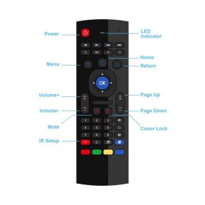 Universal MX3 Air Mouse Remote Control 2.4G Wireless