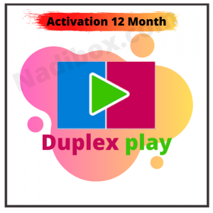 Subscribe Duplex play 12 month